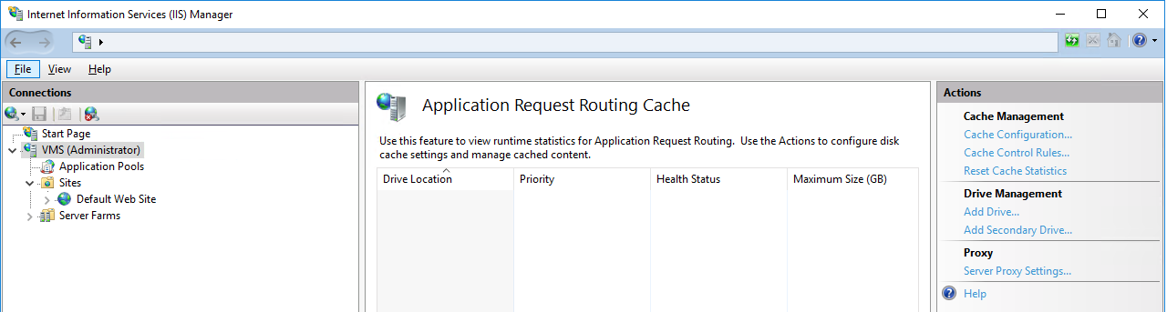 CachéQuality 2 0 x - Proxy installation | cachéQuality
